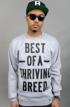 Thriving Crew Grey by Breezy Excursion