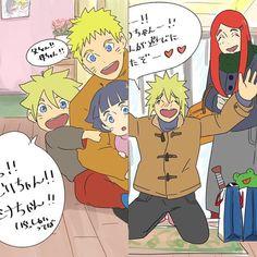 Most popular tags for this image include: himawari, naruto, minato, kushina and boruto