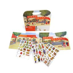 Childs Magnetic Game - Market Stall Shopping