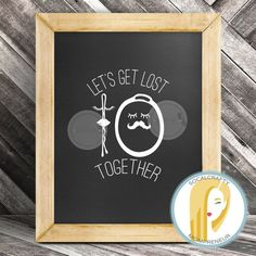 Let's Get Lost Together Bobby Pin Hair Rubber Band Vinyl Decal // Funny Quote Vinyl Decal // Hair Salon Vinyl Decal // Salon Vinyl Decal by SoCalCrafty on Etsy. Printed or Printable. $16+