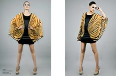 Carmelita Couture's Tiger Print Poncho Dress featured! #animal print fashions  #animal print women's fashions #wild thing #tiger print