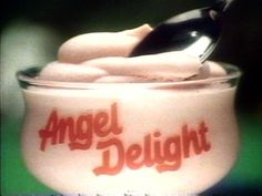 Strawberry flavour. The way this pudding was achieved from a handful of pink powder was a miracle.