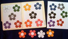 color matching file folder game   Preschool & Toddler Activities ...