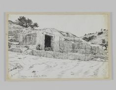 Ancient Tombs, Valley of Hinnom : James Tissot : Free Download & Streaming : Internet Archive