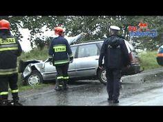 Poważny wypadek samochodu osobowego w opolskim (video) - http://1skupaut.pl/powypadkowych-uzywanych/video/osobowe/opolskie/
