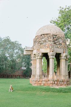 Ruins of Hauz Khas Village New Dehli