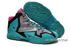newest 3e3a8 9ac88 Lebron 11 Grey Pink Green Shoes TopDeals, Price   87.09 - Adidas  Shoes,Adidas Nmd,Superstar,Originals