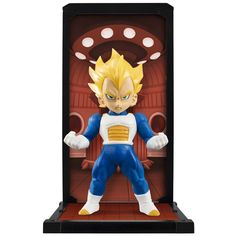 Bandai Dragon Ball Z Tamashii Buddies Super Saiyan Vegeta Figure - Radar Toys