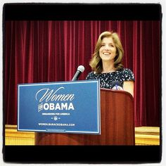 Caroline Kennedy joined #Women2012 supporters in Broward County to celebrate the two year anniversary of health care reform