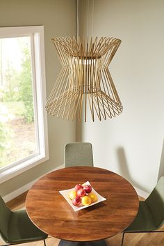 Syrma Grande LED Pendant Light From Tech Lighting: Features Dozens Of  Machined Metal Rods Which