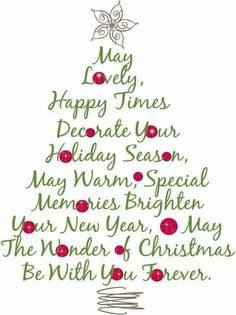 Merry Christmas wishes and greetings quotes with images