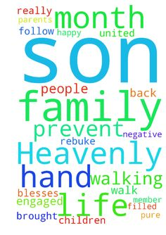 Please Lord Jesus Heavenly Father, I ask - Please Lord Jesus Heavenly Father, I ask for you to guide me and my son father to be great parents to our children and to help each in this walk of life. hand and hand in each others arms as Good Godly people. I know you brought him back into my life for a reason. Please Lord rebuke those negative family member. That arent happy when he is not around his son and I. those who try to prevent him from walking with Christ. I really would like this month…
