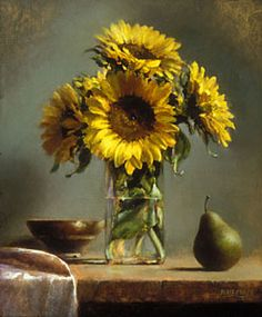 Sunlit - Ellen Buselli, oil This is the first still life that I fell in love with. It changed my whole direction in painting. Painting Still Life, Still Life Art, Art Floral, The Artist Magazine, Still Life Flowers, Italian Painters, Oil Painters, Art Studies, Still Life