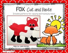 Fox Cut and PasteThis is a fox cut and paste project.$.