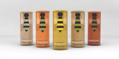 Packaging to match the urban bee keeping trend.  Because people who garden in the city deserve hip equivalents.