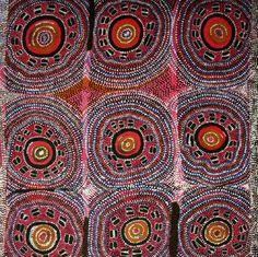 Darby Ross Tjampitjinpa / Flying Ant Dreaming 1998 107 x 107cm