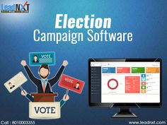 LeadNXT providing Election Campaign Software for political parties, Election Campaign Software is the most effective tool for promotional activity.  Get More Details Visit:- http://leadnxt.com/election-management-software-system.html  Facebook Link: https://www.facebook.com/LeadNxt  Email ID: info@leadnxt.com  Phone No: 8010003355