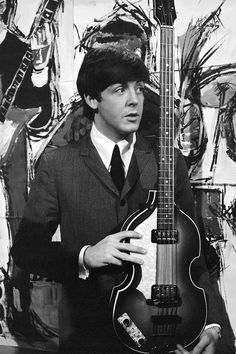 Paul with my favorite guitar ever!!!!!!
