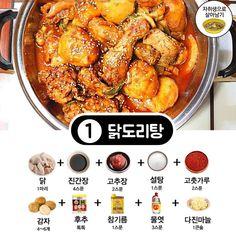 맛있는데 까다로운 닭요리, '초간단 양념베이스' 비밀레시피 공개! | 1boon My Recipes, Diet Recipes, Cooking Tips, Cooking Recipes, Korean Food, Food Plating, Chicken Wings, Cravings, Food And Drink