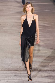 Défilé Anthony Vaccarello, prêt-à-porter printemps-été 2015, Paris. #PFW #Fashionweek #runway