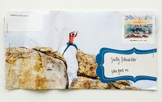 Magazine Page Envelopes + The PERFECT Multipurpose Business Card