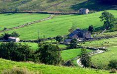 Bishopdale. North Yorkshire England Yorkshire Day, Yorkshire England, North Yorkshire, Northern England, Dark Blue Background, Royal House, White Roses, Wales, United Kingdom