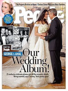 ON NEWSSTANDS 10/3/14: All the romantic details - and 25 exclusive photos! - from George Clooney and Amal Alamuddin's wedding. Plus: Chelsea Clinton's baby joy and more.