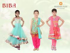 Fashion for your little princess exclusively at ‪#‎BIBA‬ shop at your favorite mall ‪#‎DiamondPlaza‬