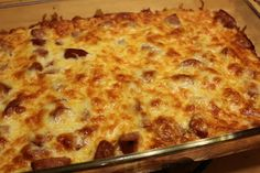 THE BUSY MOM CAFE: Ham and Cheese Breakfast Bake