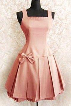 2014 Hot Sell Fashion Women Classial Lolita Dress With Bows, ocrun.com