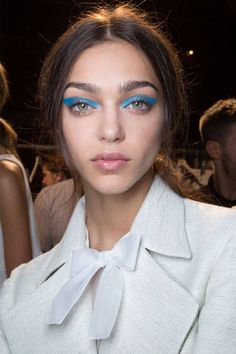 Honor Imaxtree - HarpersBAZAAR.com Bright Blue# Eyeshadow