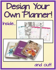 Design Your Own Planner! | Minds in Bloom