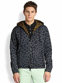 Marc by Marc Jacobs London Leopard Jacket