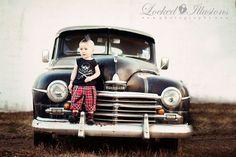 Punk Rocker Toddler