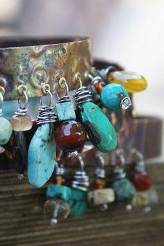 Deryn Mentock  Replica Repousse Bangles  http://artretreatattheprairiefall2.blogspot.com/p/class-details.html