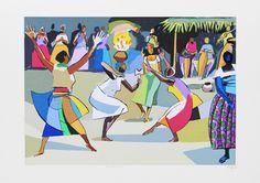 Eu gostei da obra Candomblé - 39/200 no site da galeria Espaço Arte M. Mizrahi. Para ver mais obras, acesse http://www.espacoarte.com.br/obras/7366