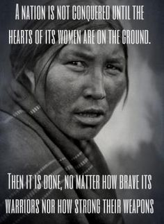 Women the heart of the World