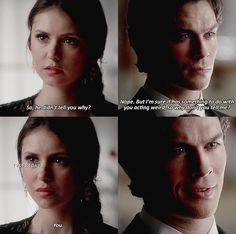 The Vampire Diaries 4x07 Damon & Elena