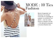 MODE : 10 tics fashion