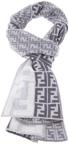 6a909d2922711 Shop Men s Fendi Scarves and handkerchiefs