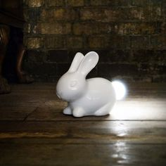 Bunny Lamp - Desk Lamps - iD Lights This Bunny Lamp has a light where his fluffy tail would be, comprised of energy efficient LEDs that remain cool to the touch.