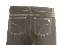 JOE'S Jean Jeggings Kids Girls Size 12 Skinny Rinsed Indigo Denim Cotton Blend #JoesJeans #SlimSkinny