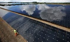 An estimated 6,964 gigawatt hours were generated by solar over the half-year - 5.4% of the UK's electricity demand.