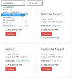 All Locations, Belfast, Leeds, Dates, Bar Chart, Management, Training, Date, Bar Graphs