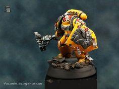 El Blog de Volomir: Artscale Imperial Fist Deathwatch