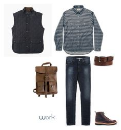 """""""Outfit 1"""" by keeshafrancois on Polyvore featuring Kjøre Project, men's fashion and menswear"""