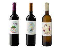 vins terra falanis #wine #labels #mallorca www.prettywines.com