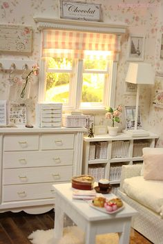 Commissioned work :) | Flickr - Photo Sharing! Miniature shabby chic.