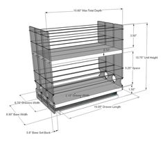 Organize cabinet spices or other small kitchen items in this slim multi-level organizer rack from Vertical Spice. This clear-view rack has 3 slide out drawers. Spice Rack White, Best Spice Rack, Pull Out Spice Rack, Spice Racks, Spice Drawer, Spice Storage, Kitchen Organisation, Kitchen Storage, Kitchen Pantry