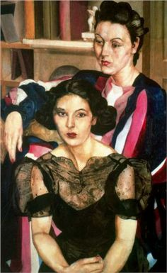 The sisters - Stanley Spencer